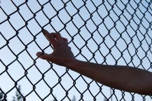 Holding fence